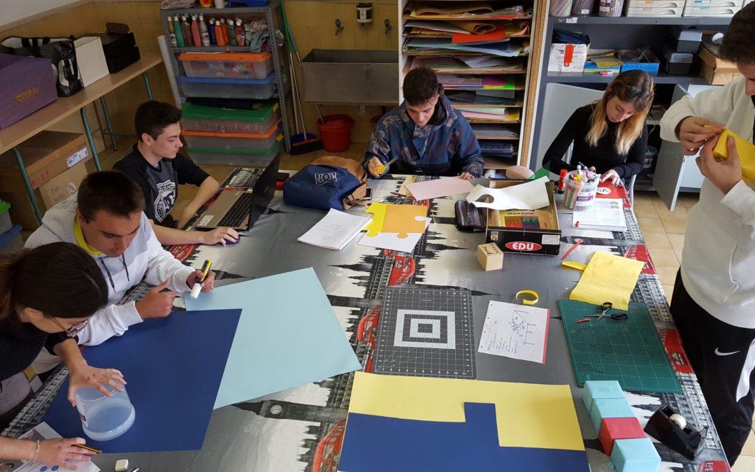 Repte dels alumnes de Grau Superior al Mòdul de Distribució d'Espais Comercials: Investiguem, exposem, expliquem.