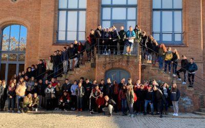 Els alumnes de 4t d'ESO visiten el MNACTEC