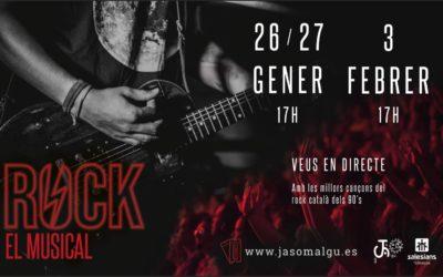 "Ja Som Algú presenta: ""Rock, el musical"""