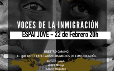 """""""Voces de la inmigración"""""""
