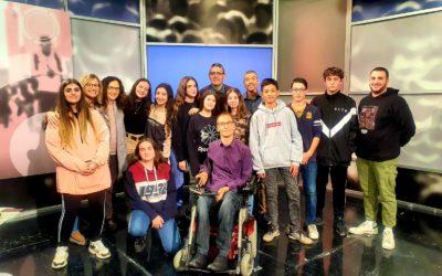 Alumnes de 2n d'ESO participen al programa de Canal Terrassa, El Club de la Saviesa.