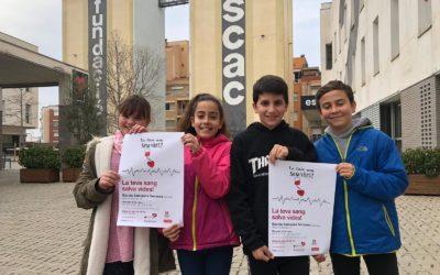 Jornada solidària de donació de Sang a Salesians Terrassa «Ho portem a la sang»